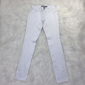 Vanilla Star Size Medium White Skinny Jeans